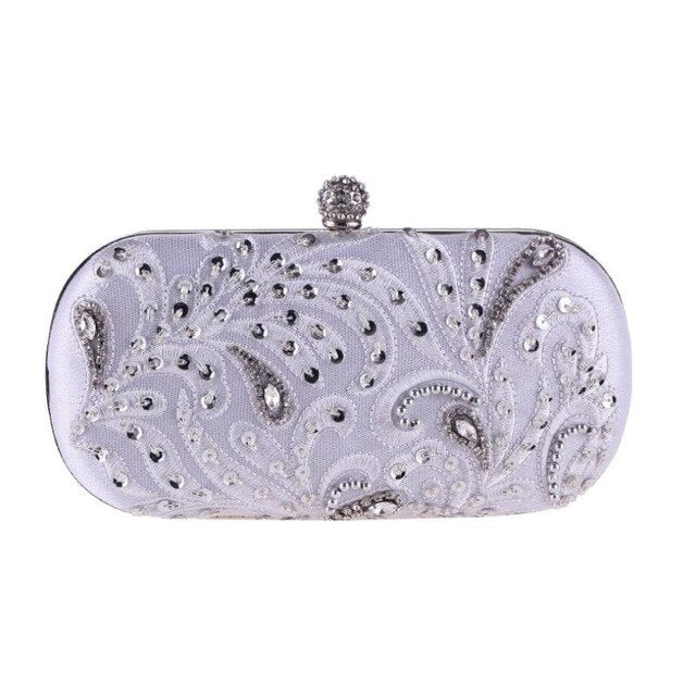 Luxury Evening Bags Fashion Full Dress Day Clutch  Handmade Purse
