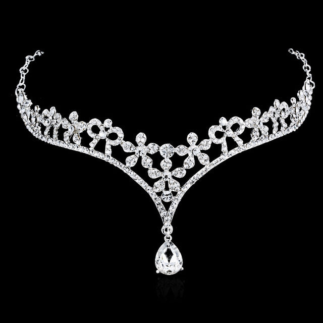 Crystal Head Jewelry Headpiece Wedding Bridal Tiaras And Crowns