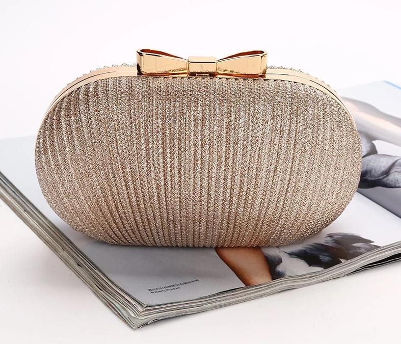 Ellipse Clutch Evening Bag Clutch Shoulder Bag For Wedding/Dating Bag