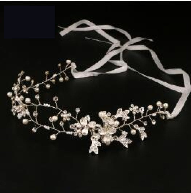 Bridal Hair Accessories Tiara Head Piece Crystal Head Piece