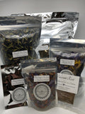 Schmerbals Herbals Packaging for Dried Herbs. Extracts, Resins, and Powders