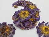 "Dried Organic Whole Flower Blue Lotus, Nymphaea caerulea, ""Siamese Dream™"" For Sale from Schmerbals Herbals"