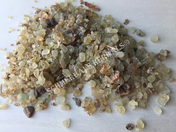 Dried Boswellia serrata, Pieces for Sale from Schmerbals Herbals