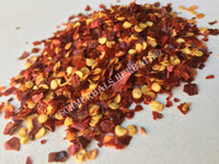Dried Crushed Chili Pepper, Capsicum annuum, for Sale from Schmerbals Herbals