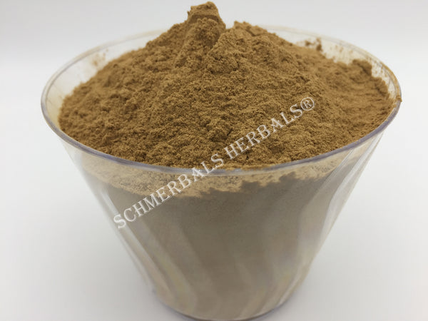 Dried Organic 20:1 Powdered Damiana Extract, Turnera diffusa, for Sale from Schmerbals Herbals