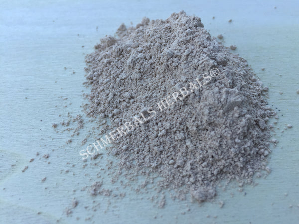 Fuller's Earth Powder, Magnesium Aluminum Silicate, for Sale from Schmerbals Herbals