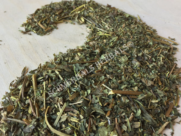 Dried Organic Goldenseal Leaf, Hydrastis canadensis, for Sale from Schmerbals Herbals