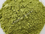 Dried Green Chiretta Ariel Plant Powder, Andrographis paniculata, for Sale from Schmerbals Herbals