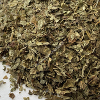 Dried Organic Lemon Balm Leaf, Melissa officinalis, for Sale from Schmerbals Herbal