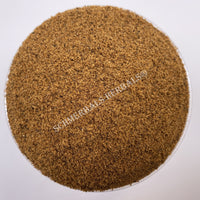 Dried Nutmeg Whole Seed Powder, Myristica fragrans, for Sale from Schmerbals Herbals