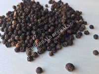 Dried Whole Black Peppercorn, Piper nigrum, for Sale from Schmerbals Herbals