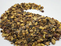 Dried Wild-Crafted, Chopped, Saw Palmetto Berries, Serenoa repens, for Sale from Schmerbals Herbals