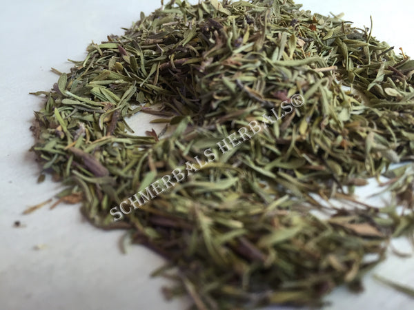 Dried Thyme Leaf, and Organic Thyme Leaf, Thymus vulgaris, for Sale from Schmerbals Herbals