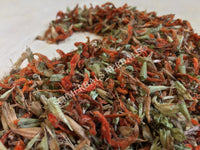 Dried Organic Wild Dagga Whole Flower, Cut and Sifted, Leonotis leonurus, for Sale from Schmerbals Herbals