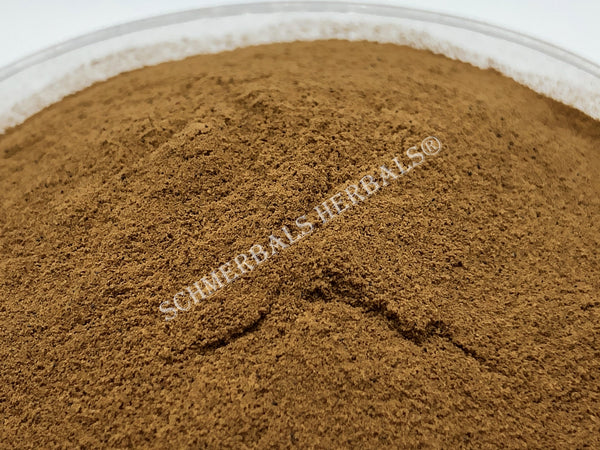 Dried Organic 20:1 Powdered Wormwood Extract, Artemisia absinthium, for sale from Schmerbals Herbals