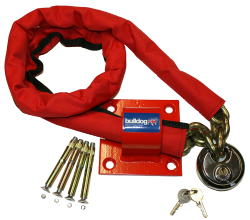 Bulldog MC30 High Security Chain ,Padlock And Ground Anchor