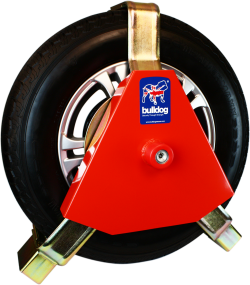 Bulldog CA2500 Centaur Wheel Clamp on a white background