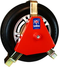 Bulldog Security 230/F Titan Wheel Clamp