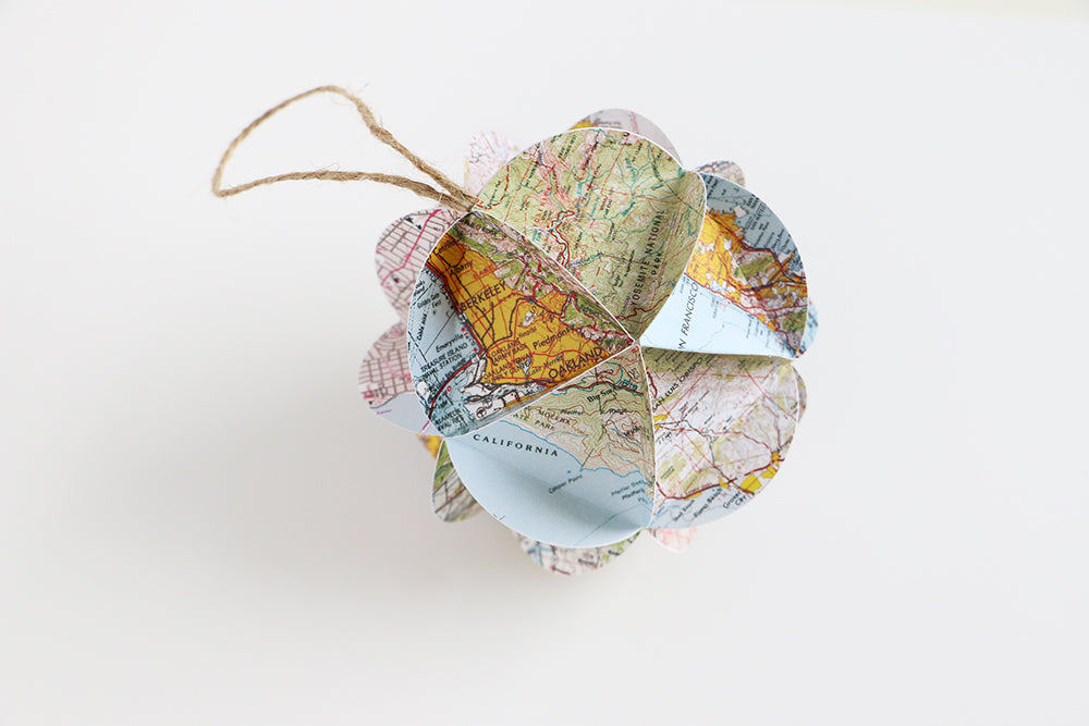 DIY California Map Ornament Kit