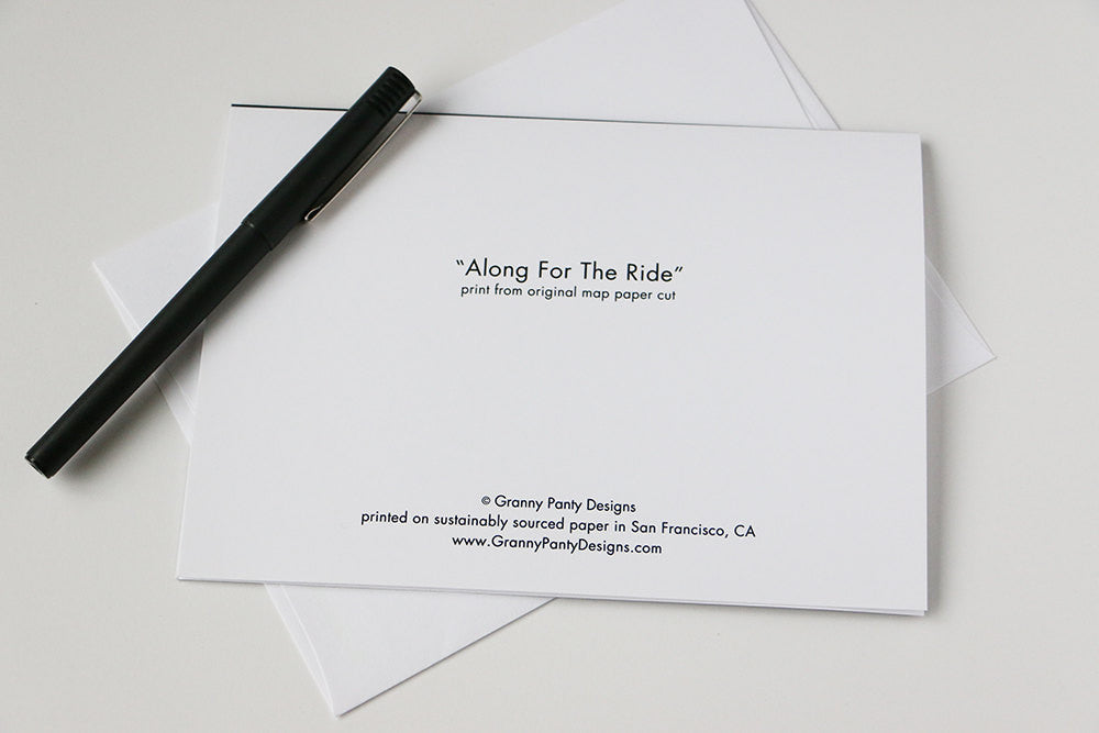 """Along for the Ride"" Card"