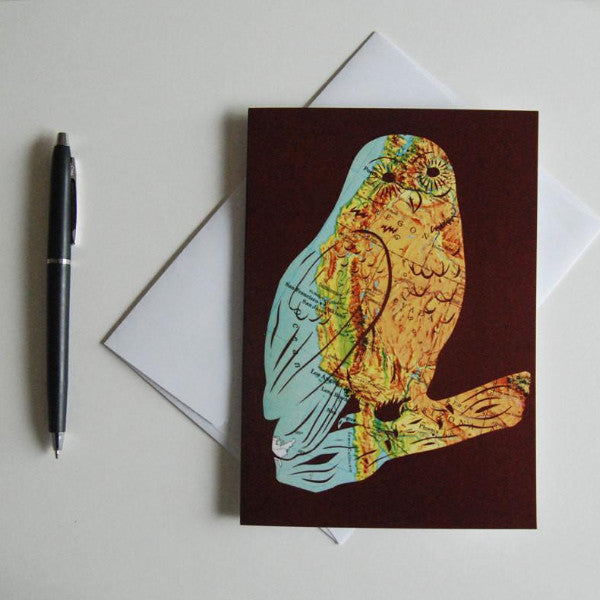 """West Coast Owl"" Card"