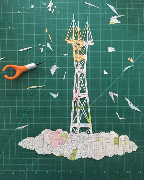 """Sutro Tower"" Card"