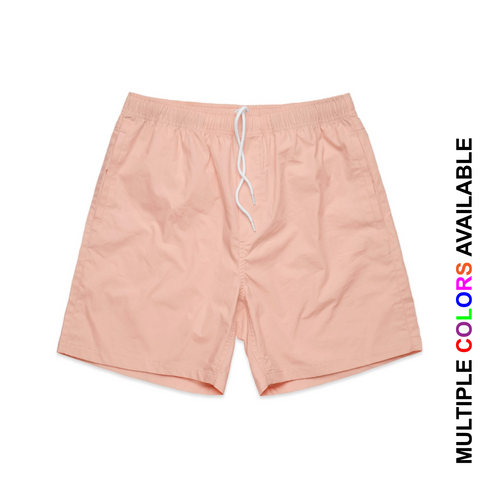 24+ Screen Printed Beach Shorts (TEMP. OUT OF STOCK)