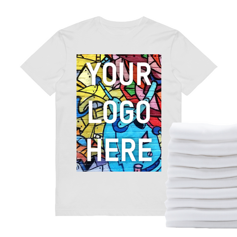 12 Full-Color DTG T-Shirts