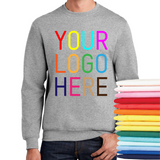 24 FULL-COLOR Screen Print Crewnecks