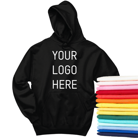 24 Full-Color Screen Print Hoodies