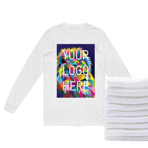 24 Full-Color DTG Long Sleeves