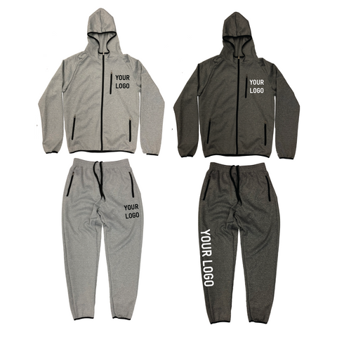 Tech-Fleece 12 Hoodie + 12 Jogger Screen Print Combo