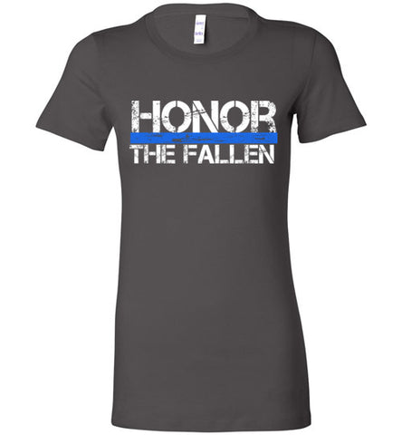 Honor - Thin Blue Line - Ladies Favorite Tee