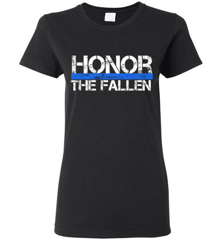 Honor - Thin Blue Line - Ladies
