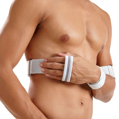 Push Med Shoulder Brace - Blue/Grey