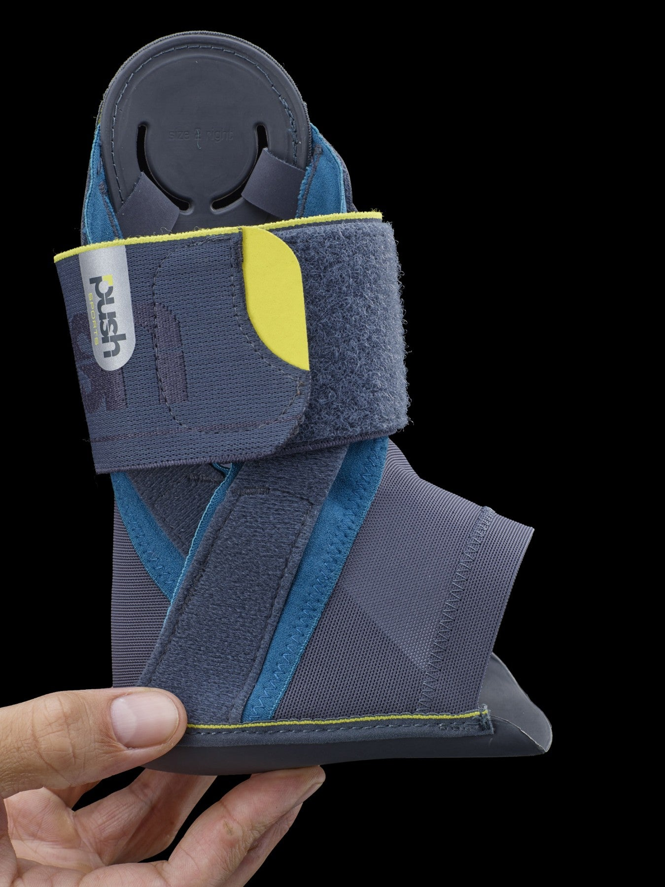 Push Sports Ankle Brace Kicx | The Soccer players brace