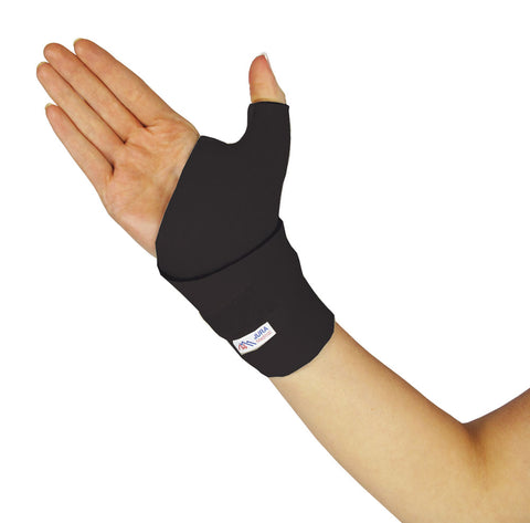 Juraprene Wrist Thumb Wrap - Black