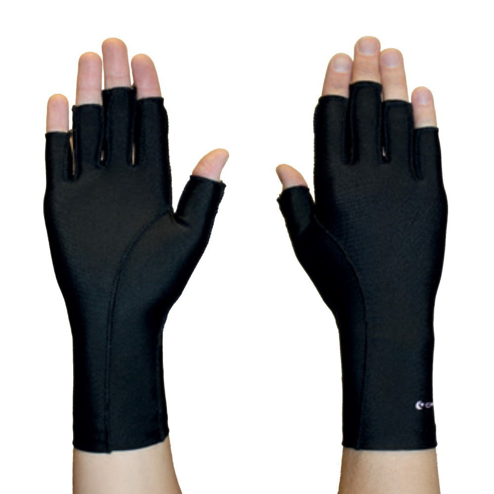 Compression Glove 3/4 Finger - Black