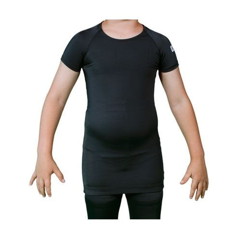 Upper Body Orthosis Short Sleeve - Black