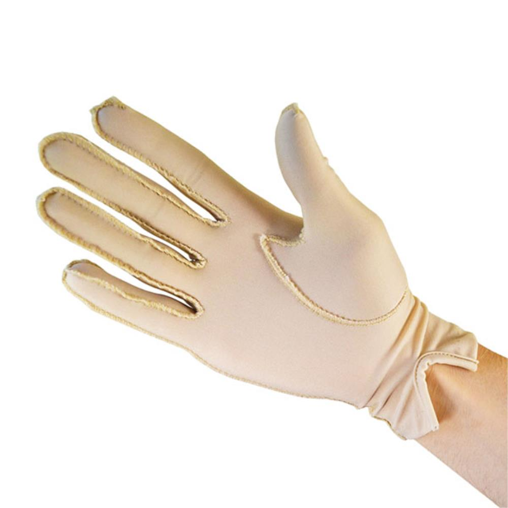 Oedema Glove Wrist Full - Beige Single