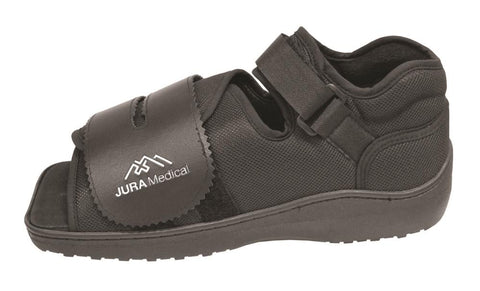 Jura Post-Op Shoe Mens - Black