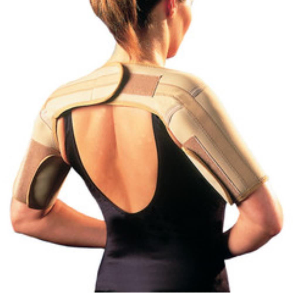 Neoprene Shoulder Brace - Beige