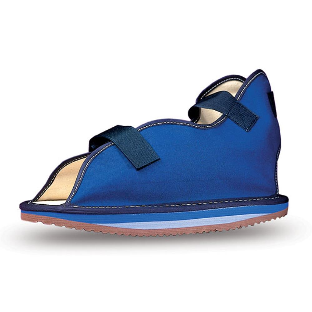 Open Toe Cast Sandal - Blue