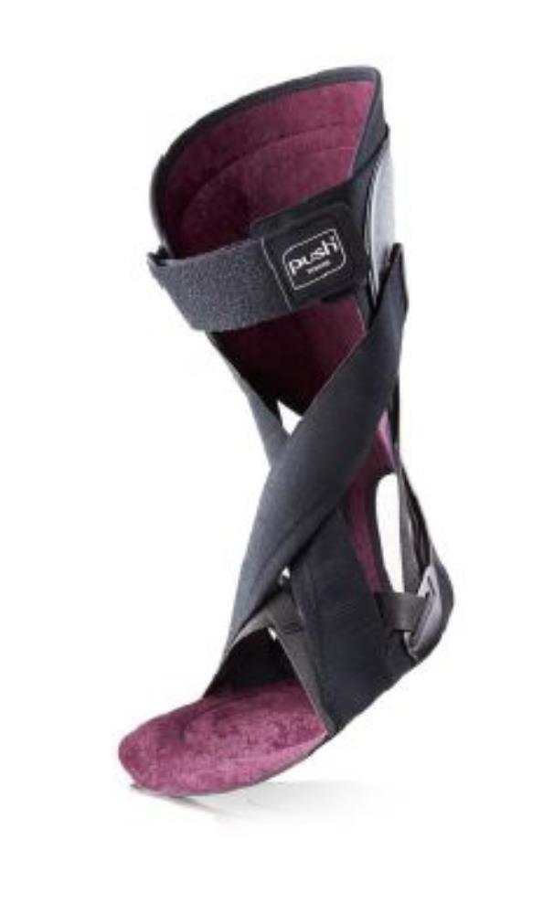 Push Ortho Ankle Foot Orthosis - Black