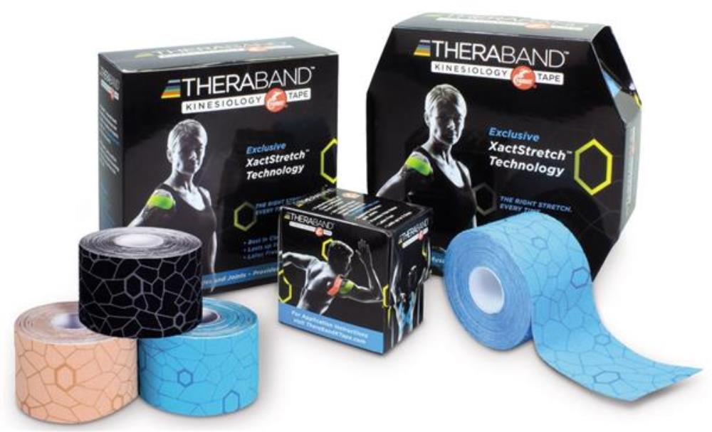 TheraBand Kinesiology Tape with XactStretch