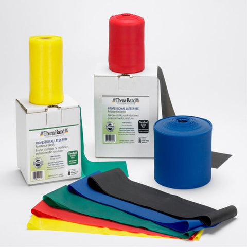 TheraBand Latex-Free 22m Professional Resistance Bands