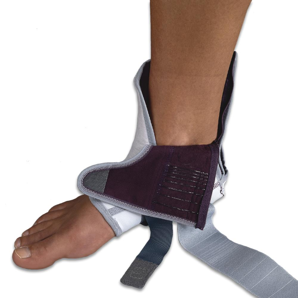 Push Med Ankle Brace - Blue/Grey