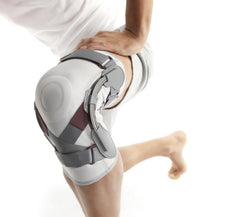 Push Med Knee Brace - Blue/Grey