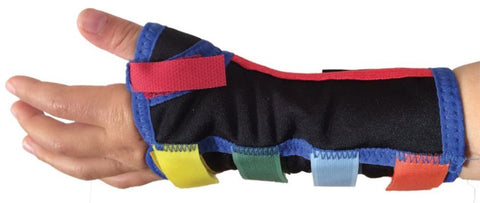 Paediatric Wrist/Thumb Splint - Multi Coloured