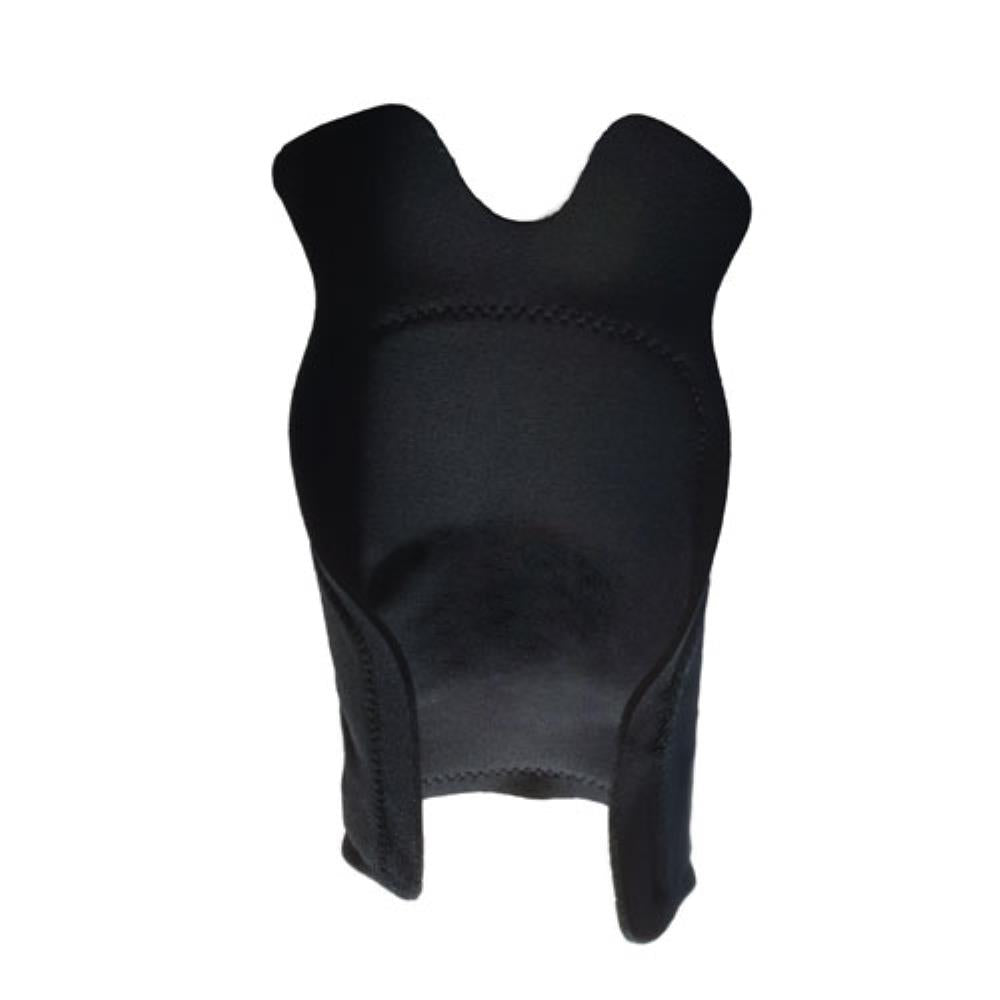 TLSO with Moldable Thermoplast - Back Panel Black